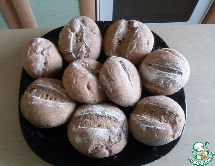 Рецепт: Ржаные булочки