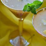 Коктейль алкогольный с белым квасом Настроение
