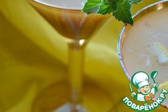 Рецепт: Коктейль алкогольный с белым квасом Настроение