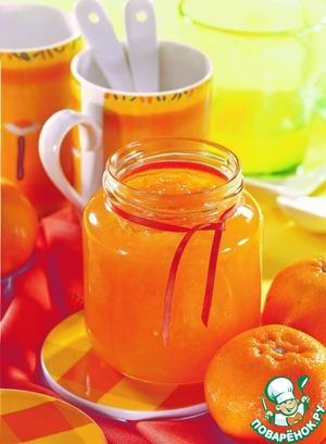 Рецепт: Апельсиновый джем