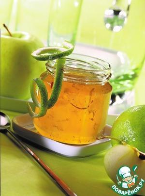 Рецепт: Желе из яблок и лимонов