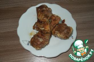Рецепт: Курица в кофейном маринаде