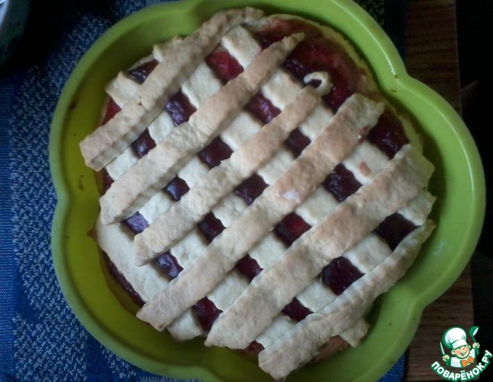 Рецепт: Тертый пирог или печенье с джемом