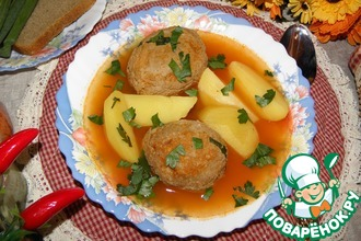 Рецепт: Армянский суп Кололик