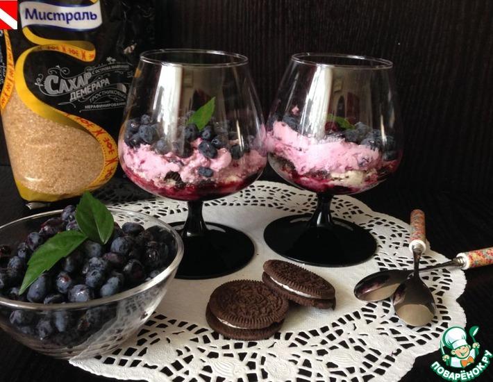 Рецепт: Десерт Ягодное наслаждение
