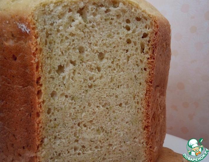Рецепт: Луковый хлеб в хлебопечке