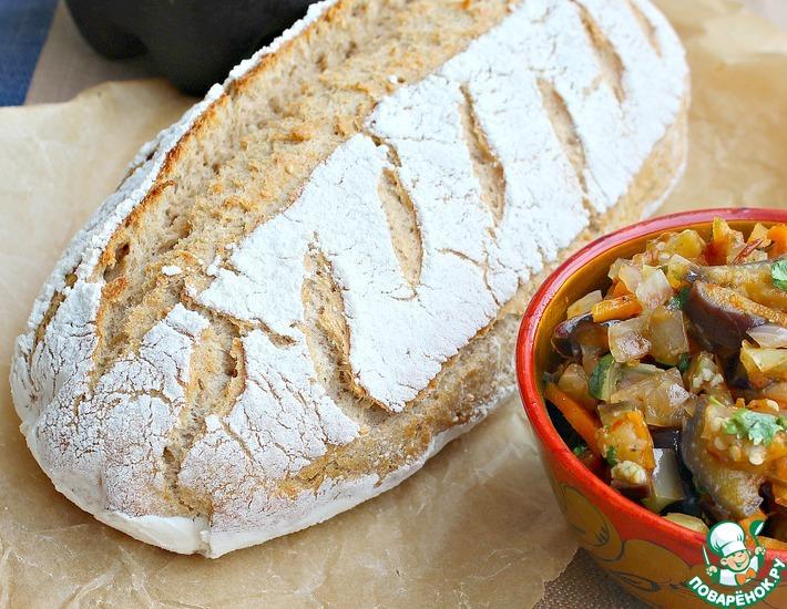 Рецепт: Мой идеальный фермерский хлеб без замеса