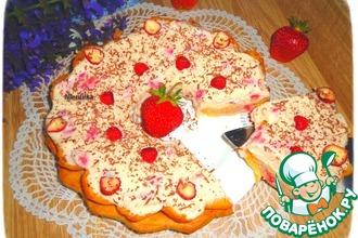 Рецепт: Торт Дачный заварной