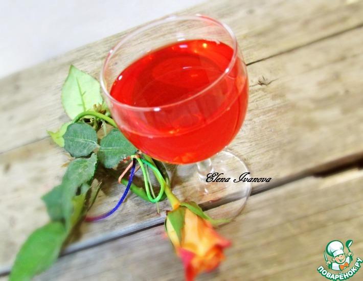 Рецепт: Наливка из летних ягод