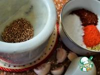 Аджика корейская ингредиенты