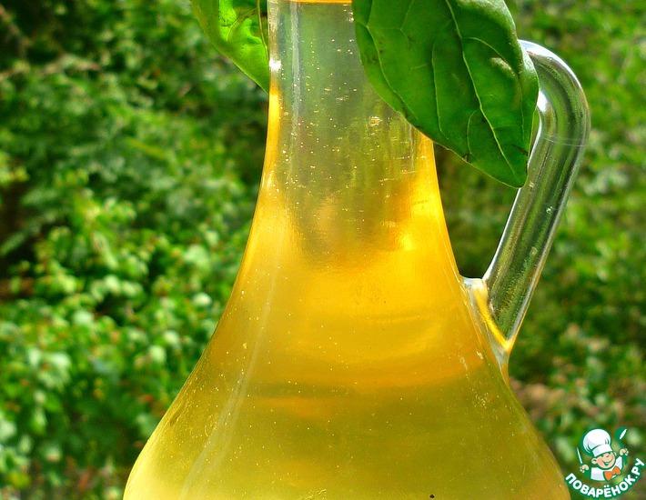 Рецепт: Ароматнейший сироп из базилика на зиму