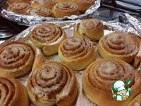 Шведские булочки с корицей ингредиенты