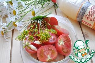 Рецепт: Соленые помидоры в квасе
