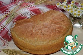 Рецепт: Деревенский картофельный хлеб