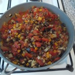 Тушеные овощи Мозаика