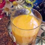 Морс облепиховый Солнышко в стакане