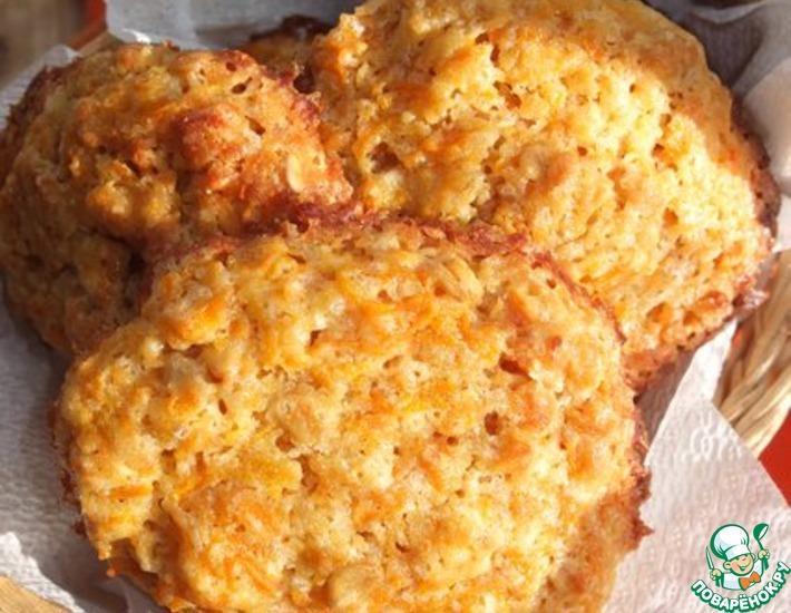 Рецепт: Печенье морковно-овсяное