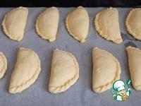 Пирожки из духовки с малиной ингредиенты