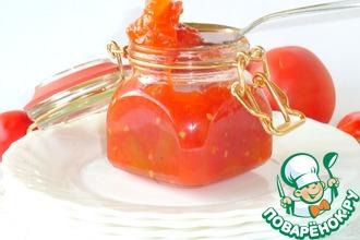 Рецепт: Томатный джем или соус к мясу