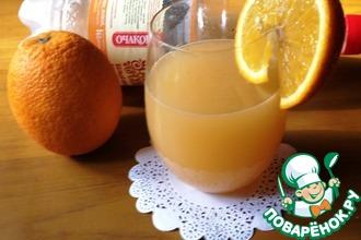 Рецепт: Цитрусовый напиток на квасе