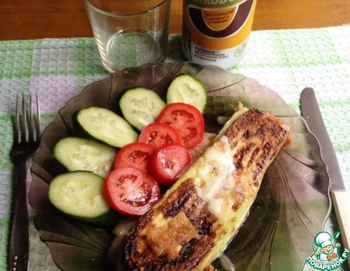 Рецепт: Кабачковый сэндвич
