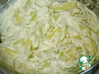Кабачковая запеканка с рисом ингредиенты