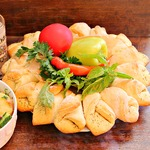 Хлеб Центр стола
