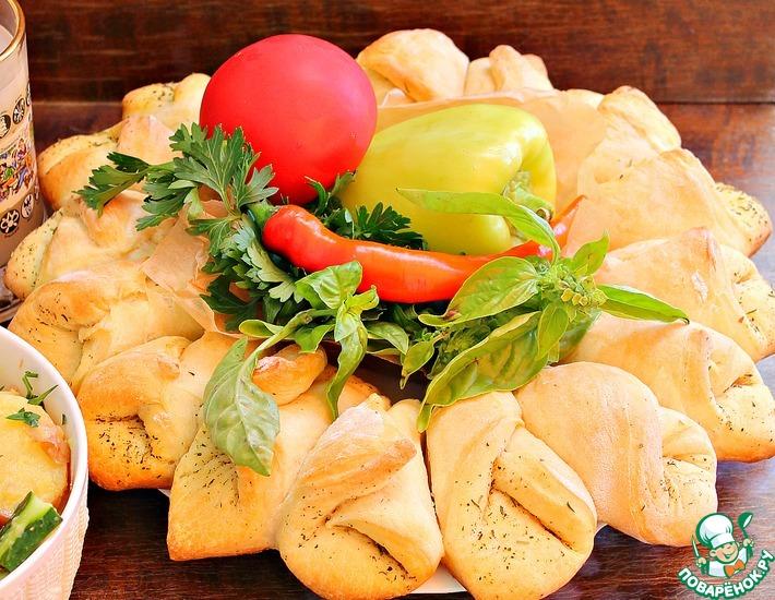 Рецепт: Хлеб Центр стола