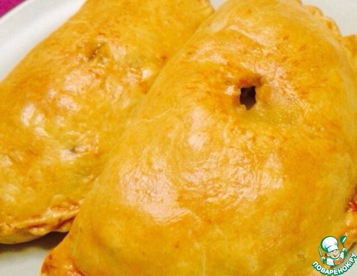 Рецепт: Корнуэльские пирожки