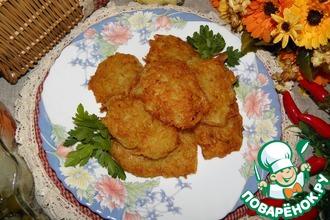 Рецепт: Картофельные драники Две стороны
