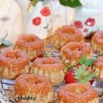 Ананасово-клубничные кексы