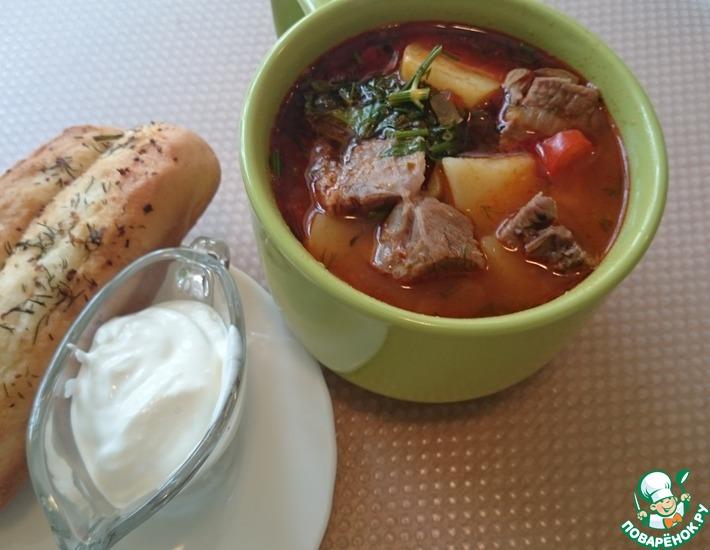 Рецепт: Суп Гуляш