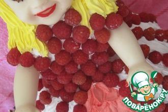 Рецепт: Торт Кукла-ягодка