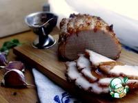 Бутербродное мясо, маринованное в квасе ингредиенты