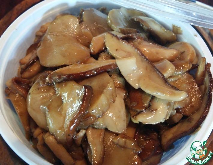 Рецепт: Заготовка на зиму белых грибов