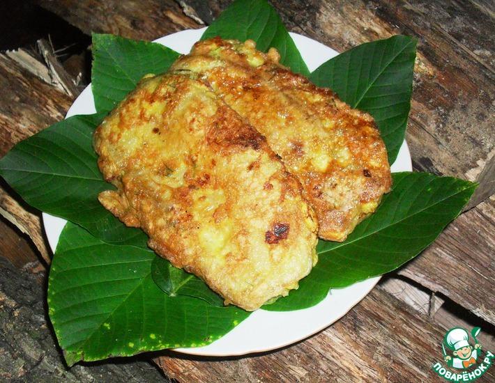 Рецепт: Шницель из кабачка
