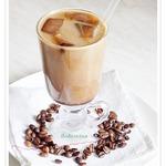 Кофе с кофейным льдом