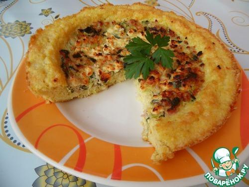 Пирог-запеканка из пшена – кулинарный рецепт