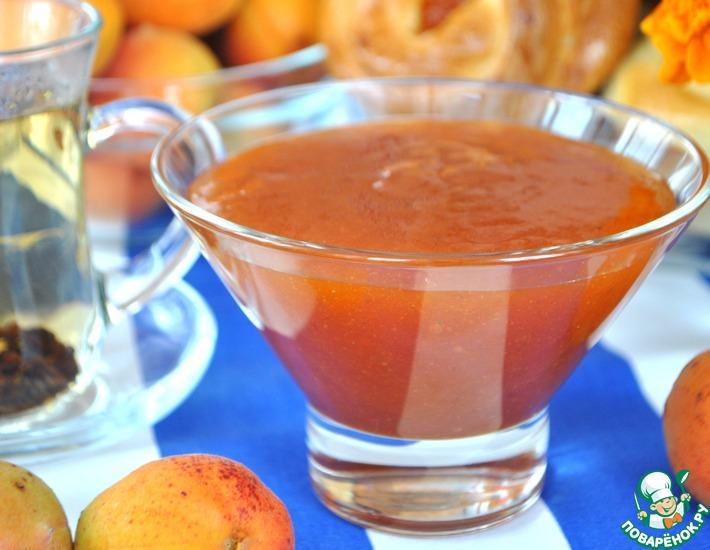 Рецепт: Абрикосово-яблочный джем
