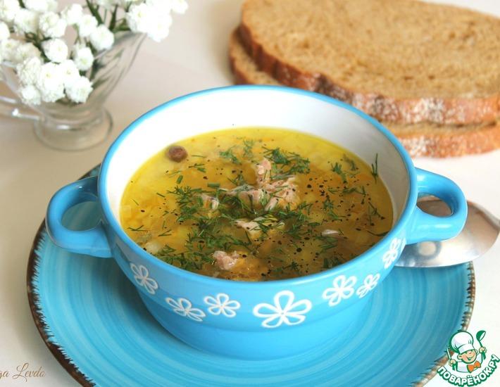 Рецепт: Рыбный суп с пшеном