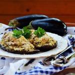 Баклажаны, фаршированные рисом