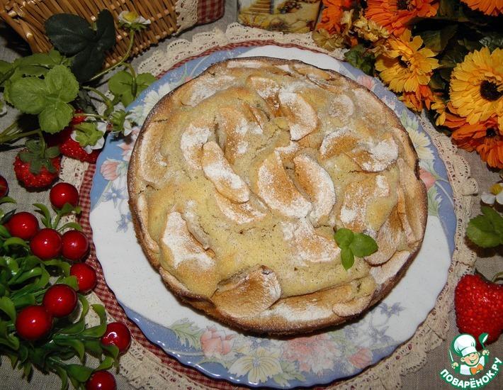 Рецепт: Пирог с фруктами