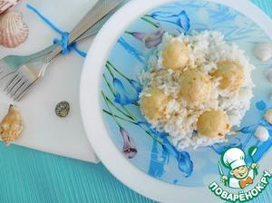 Рисовая каша с секретными шариками