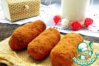 Рецепт: Пирожное а-ля Картошка диетическое