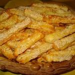 Творожно-сырные полоски – кулинарный рецепт
