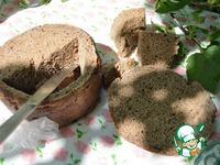 Рыбный суп в хлебной тарелке ингредиенты