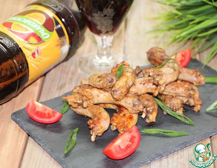 Рецепт: Куриные шейки в квайси-маринаде