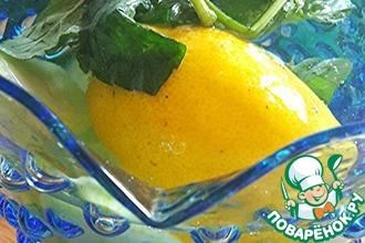 Рецепт: Огуречная вода Оазис