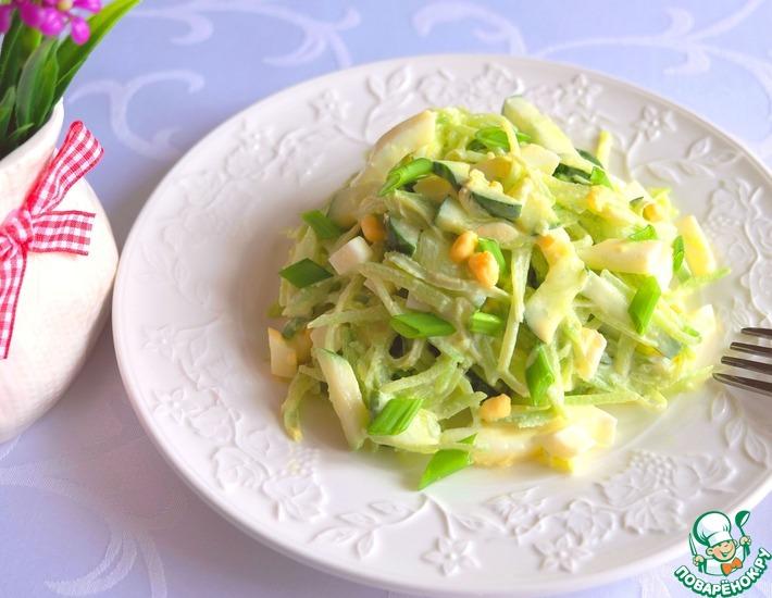 Рецепт: Салат Уралочка