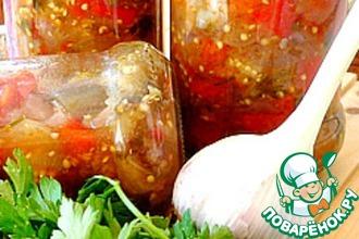 Рецепт: Соте из баклажанов по-ташкентски для скороварки